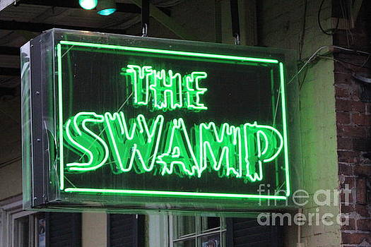 Chuck Kuhn - New Orleans Sign  The SWAMP
