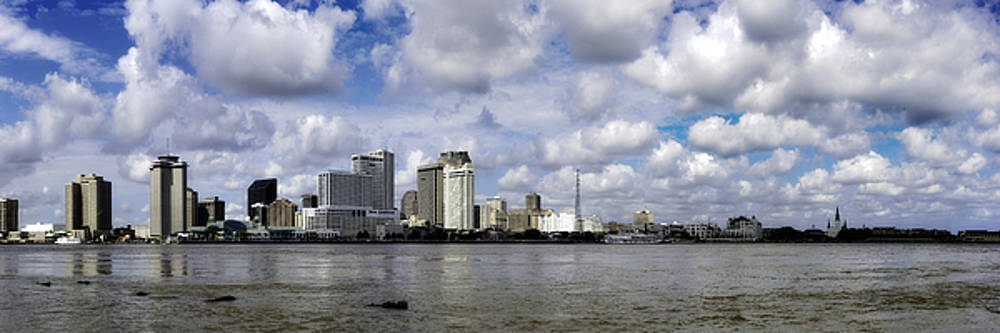 Chris Coffee - New Orleans Skyline Panoramic