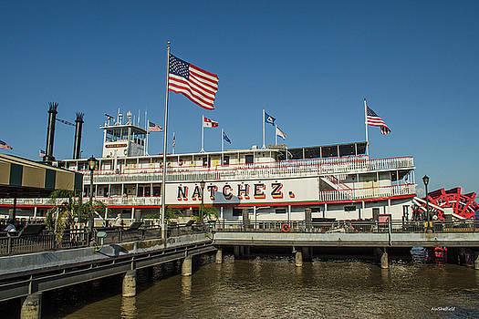 Allen Sheffield - New Orleans - Steamboat Natchez