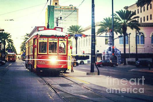 New Orleans Streetcar by Joan McCool