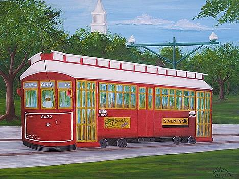 New Orleans Streetcar by Valerie Carpenter