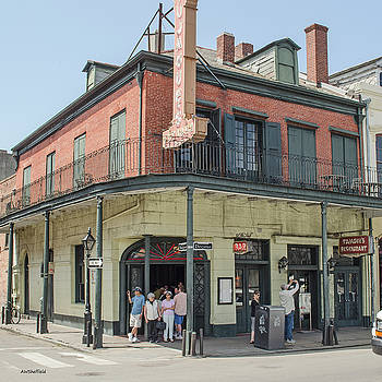 Allen Sheffield - New Orleans - Tujagues Cafe