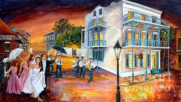 New Orleans Wedding Party by Diane Millsap