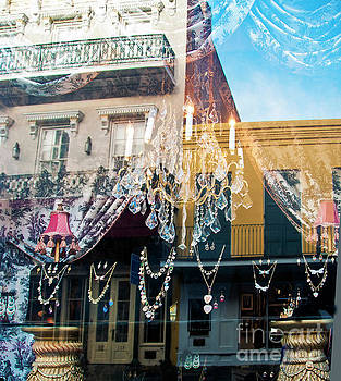 New Orleans Window Reflection by Beth Riser