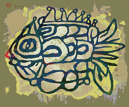 New Pop Art - Tropical Fish Poster by Kim Wang