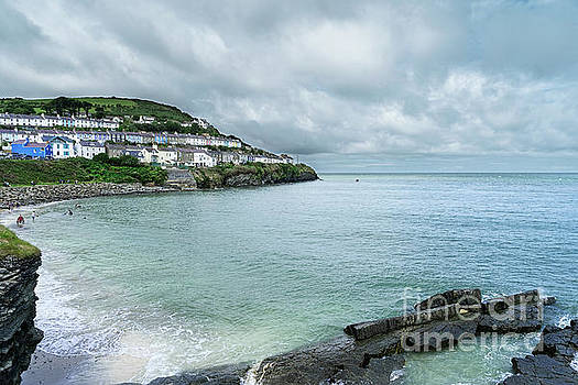 New Quay Wales  by Ann Garrett