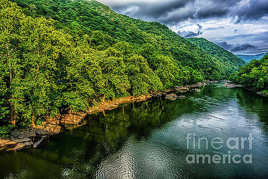 New River Gorge Clouds by Thomas R Fletcher