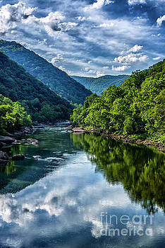New River Gorge National River 3 by Thomas R Fletcher