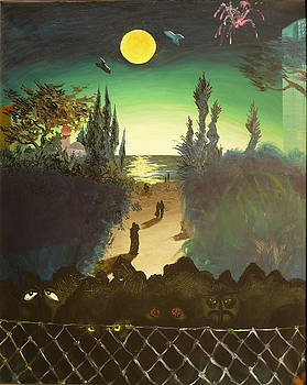 New Romantic by Zsuzsa Sedah Mathe