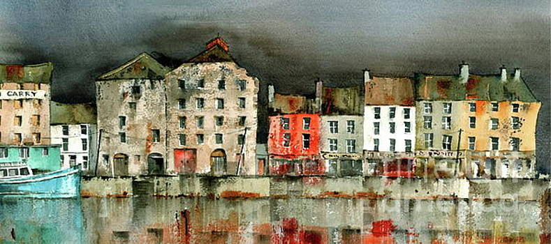 Val Byrne - New Ross Quays Panorama