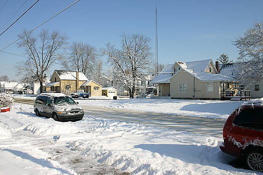 New Snow Neighborhood by Stan Layman