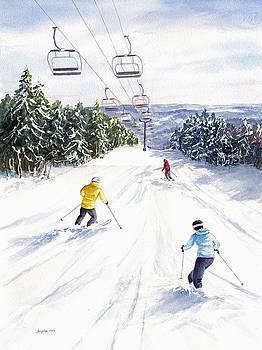 New Snow by Vikki Bouffard