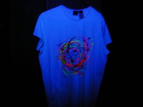 New Spin-Art T-shirts by John Pavon