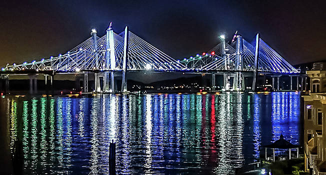 New Tappan Zee Bridge Colors by Jeffrey Friedkin