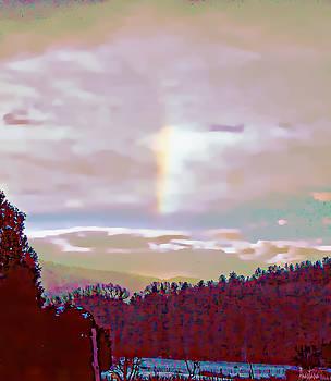 New Year's Dawning Fire Rainbow by Anastasia Savage Ealy