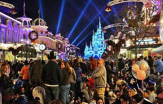 New Year's Eve at the Magic Kingdom by Barkley Simpson