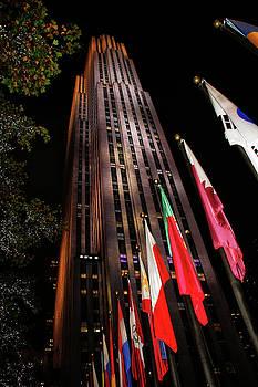 New York at Night by Deborah Jahier