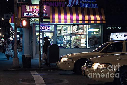 New York at night  by John Farnan