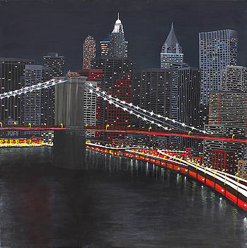New York at Night by Maxwell Hanson