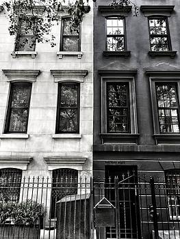 New York - Black and White Apartments by Cameron Dixon