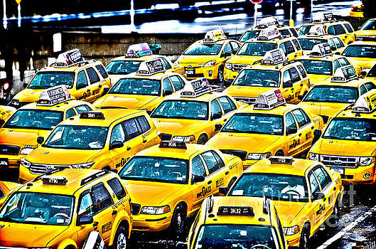 New York Cab by Alessandro Giorgi Art Photography