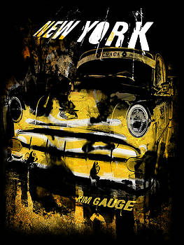 New York Cab by Kim Gauge