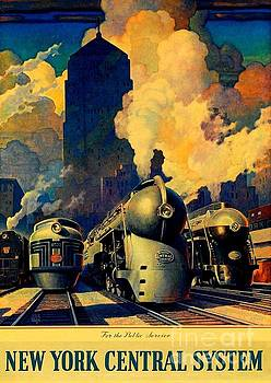 Peter Gumaer Ogden - New York Central System for the Public Service 1945 II Leslie Ragan