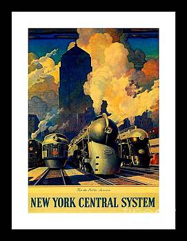 Peter Gumaer Ogden - New York Central System for the Public Service by Leslie Ragan 1945