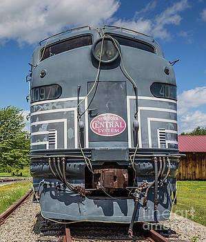 Edward Fielding - New York Central System Locomotive Vintage