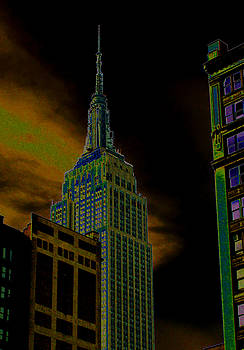 New York City 3 by Leonard Rosenfield