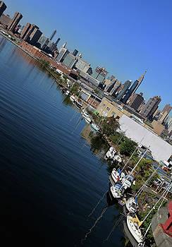 New York City-3 by Nina Bradica