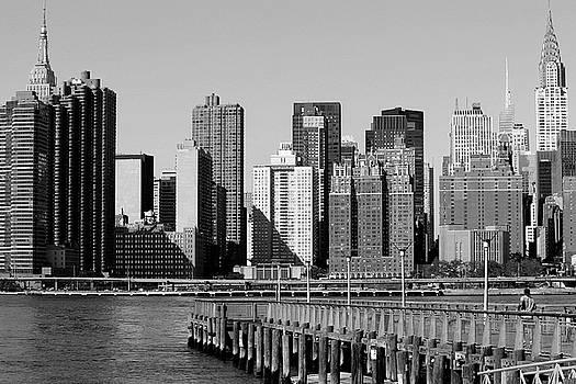 New York City-7 by Nina Bradica