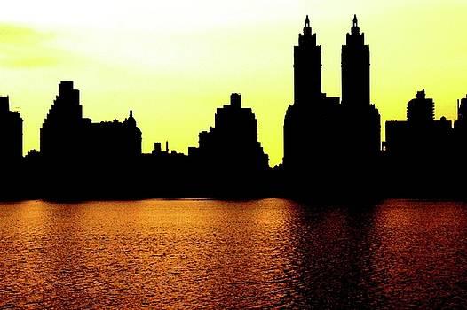 New York City buildings by Natalia Radziejewska