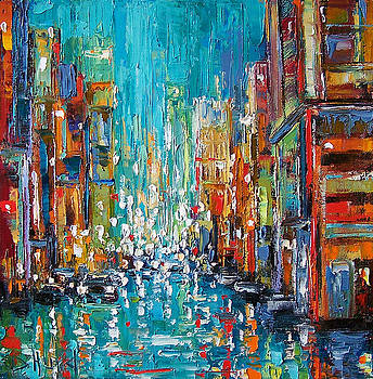 New York City by Debra Hurd