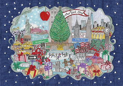 New York City Holiday by Stephanie Hessler