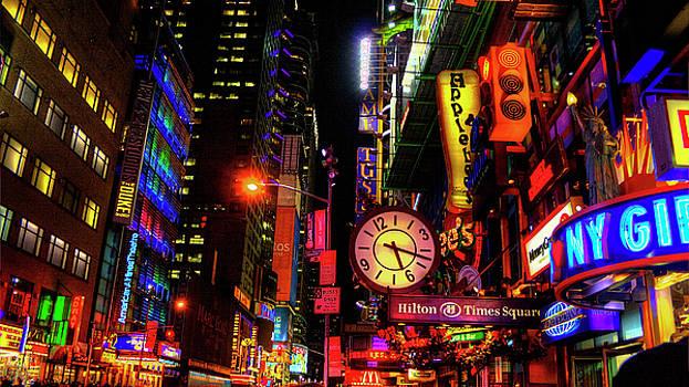New York City Lights by Steve Gravano