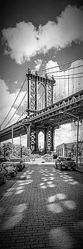 Melanie Viola - NEW YORK CITY Manhattan Bridge - Upright Panorama