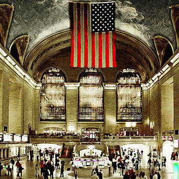 Wingsdomain Art and Photography - New York City Midtown Manhatten Grand Central Terminal 20160215 square