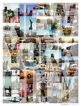 New York City Montage - Type by Darren Martin