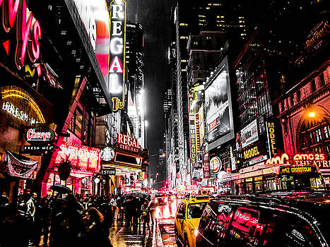 New York City Night II by Nicklas Gustafsson