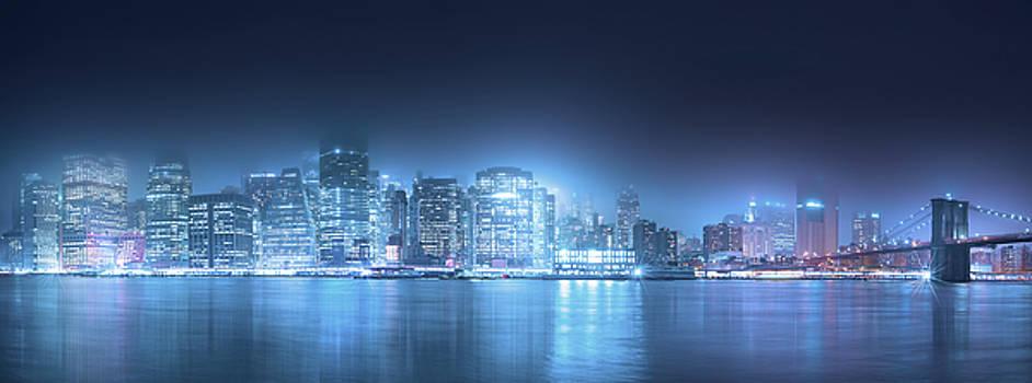 New York City Panorama by Mark Andrew Thomas