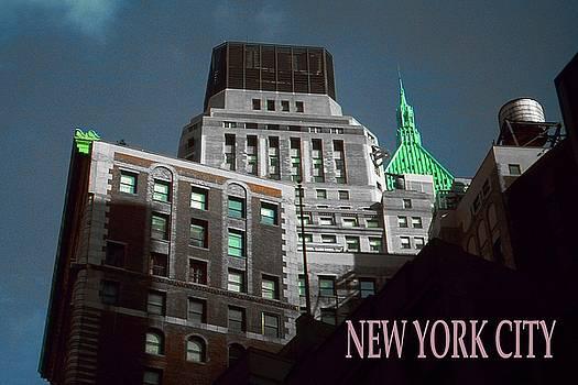 Art America Gallery Peter Potter - New York City Poster - Wall Street