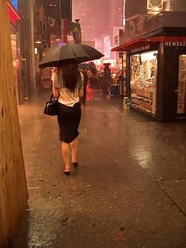 New York City Rain by Andrew Kazmierski