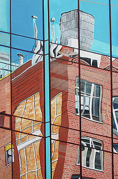 New York City Reflection by Steven Fleit