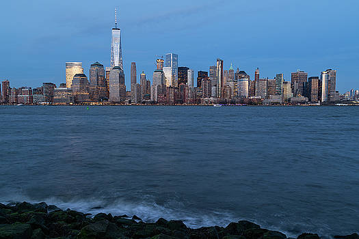 New York City Skyline by Dave Files