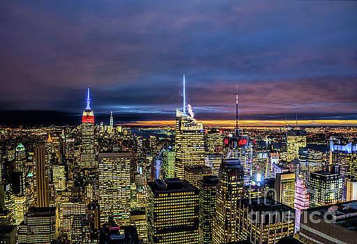 New York City Twilight by Rafael Quirindongo