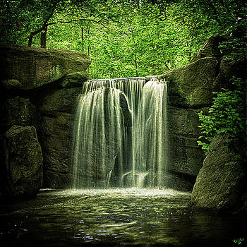 New York City Waterfall by Chris Lord