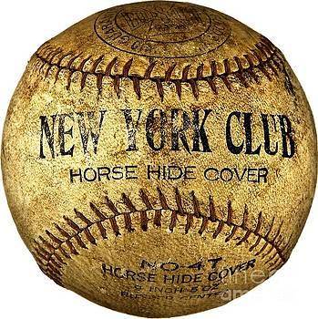 New York Club Basball circa 1918 by Peter Ogden