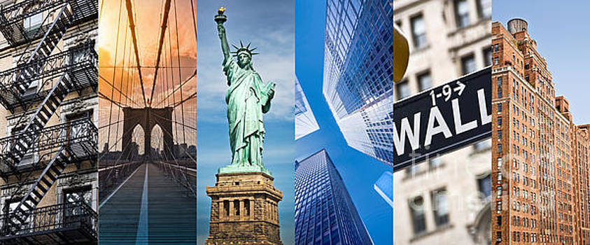 Delphimages Photo Creations - New York collage