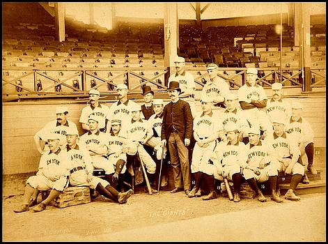 New York Giants New York Baseball Club 1888 by Peter Gumaer Ogden Collection